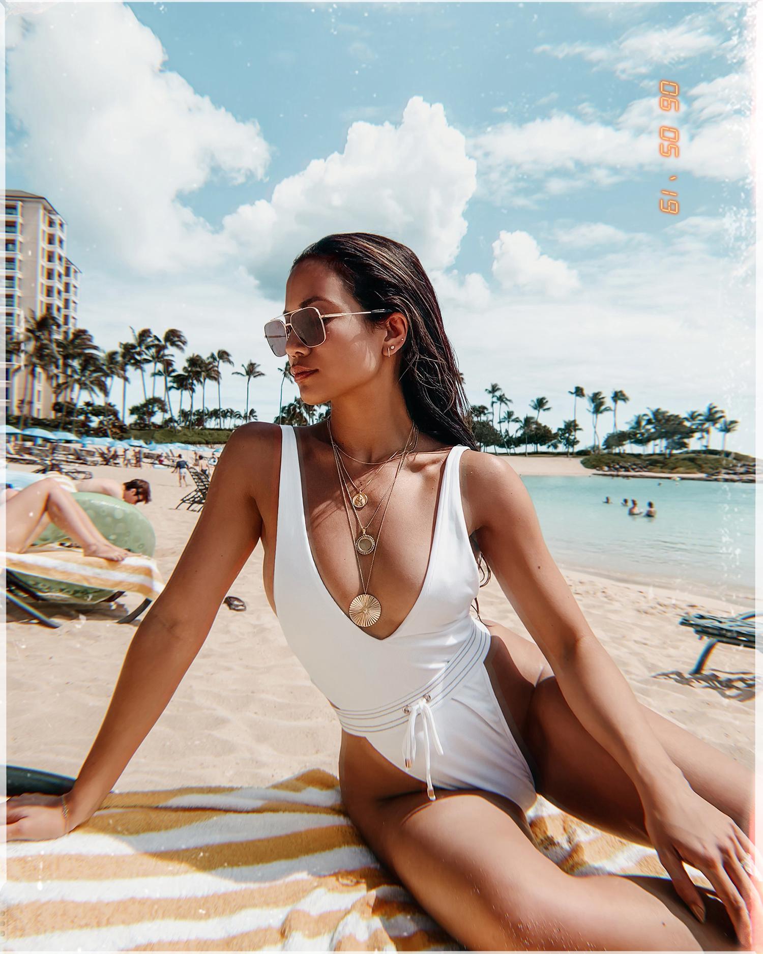 best 90s inspired high waisted bikinis