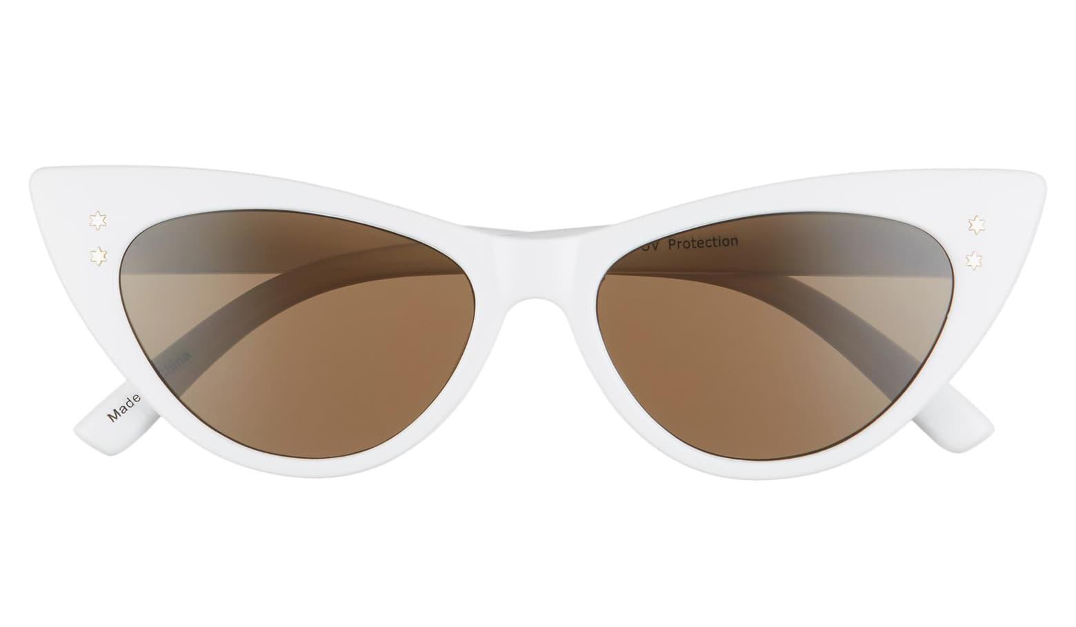 BP. 53mm Cat Eye Sunglasses | Cat eye sunglasses, Round