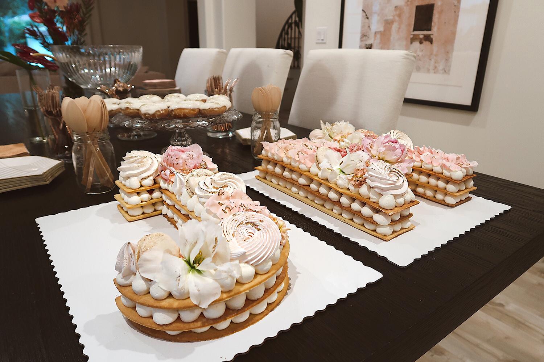 letter cake trend inspiration