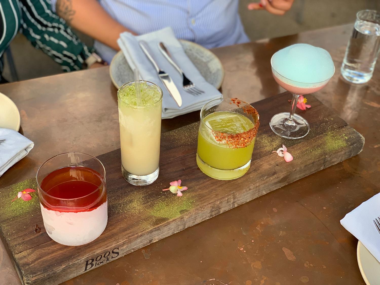 best cocktails in LA otium restaurant