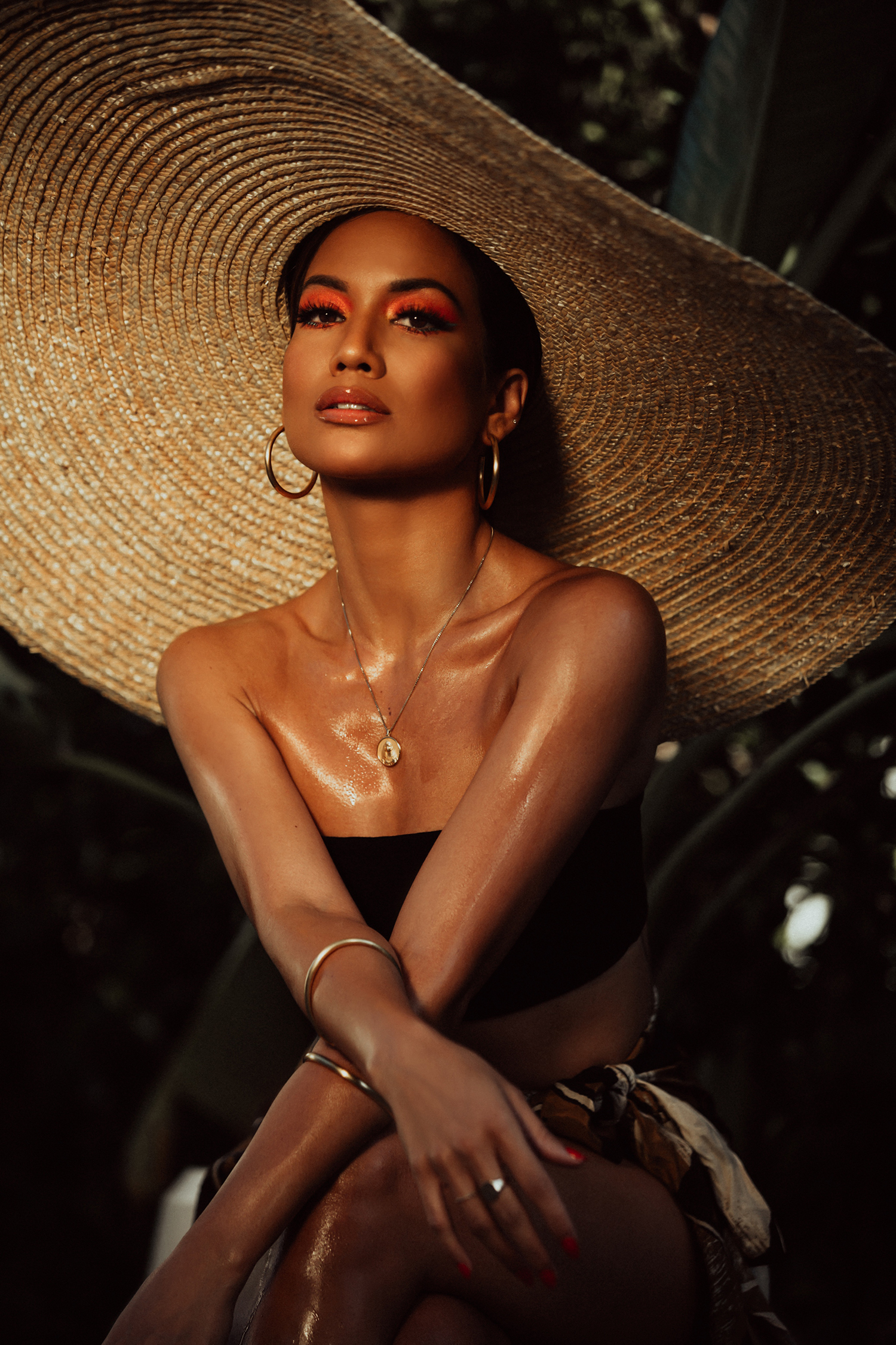 vacation makeup and bronzer inspo