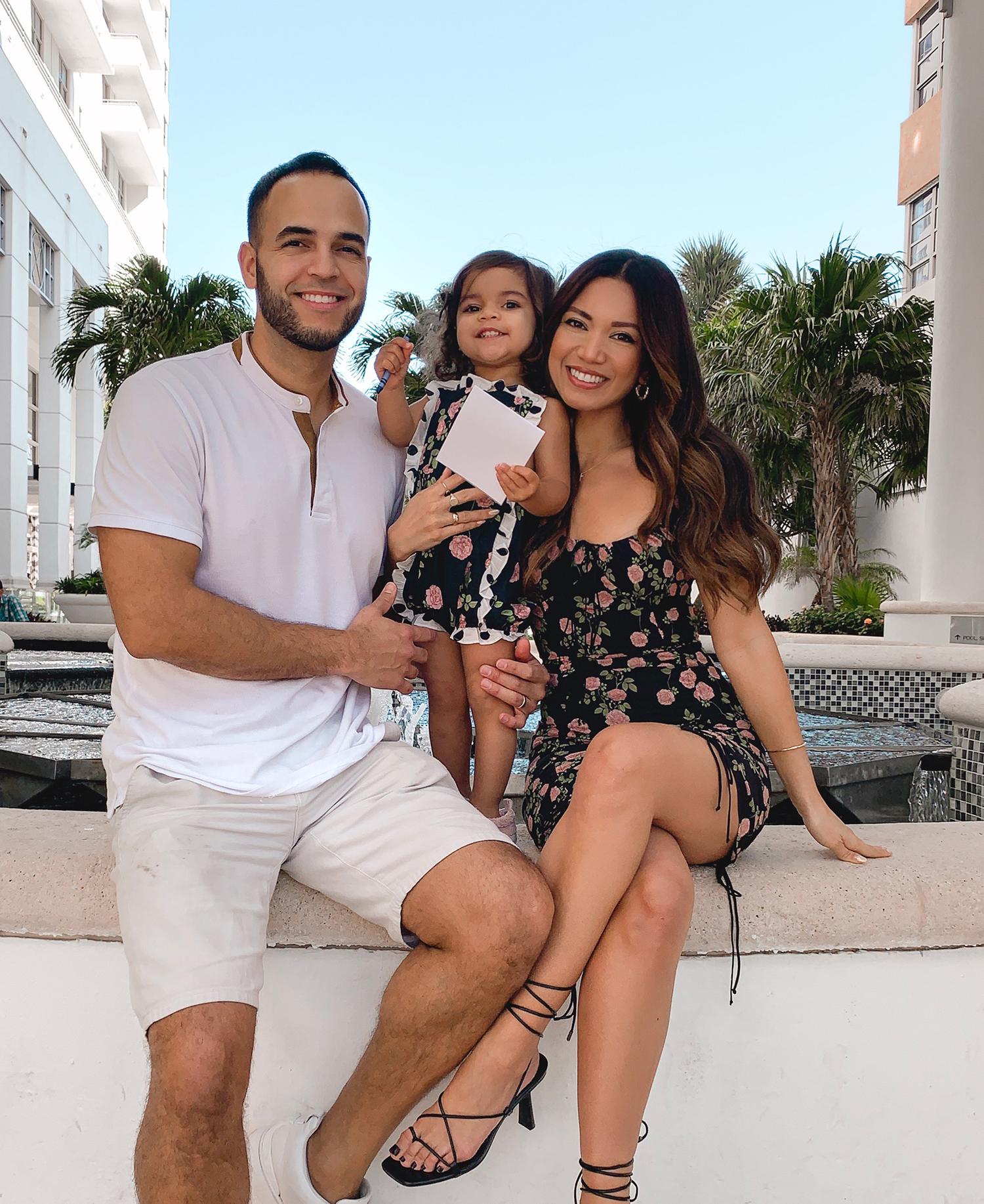 Jessi Malay and family