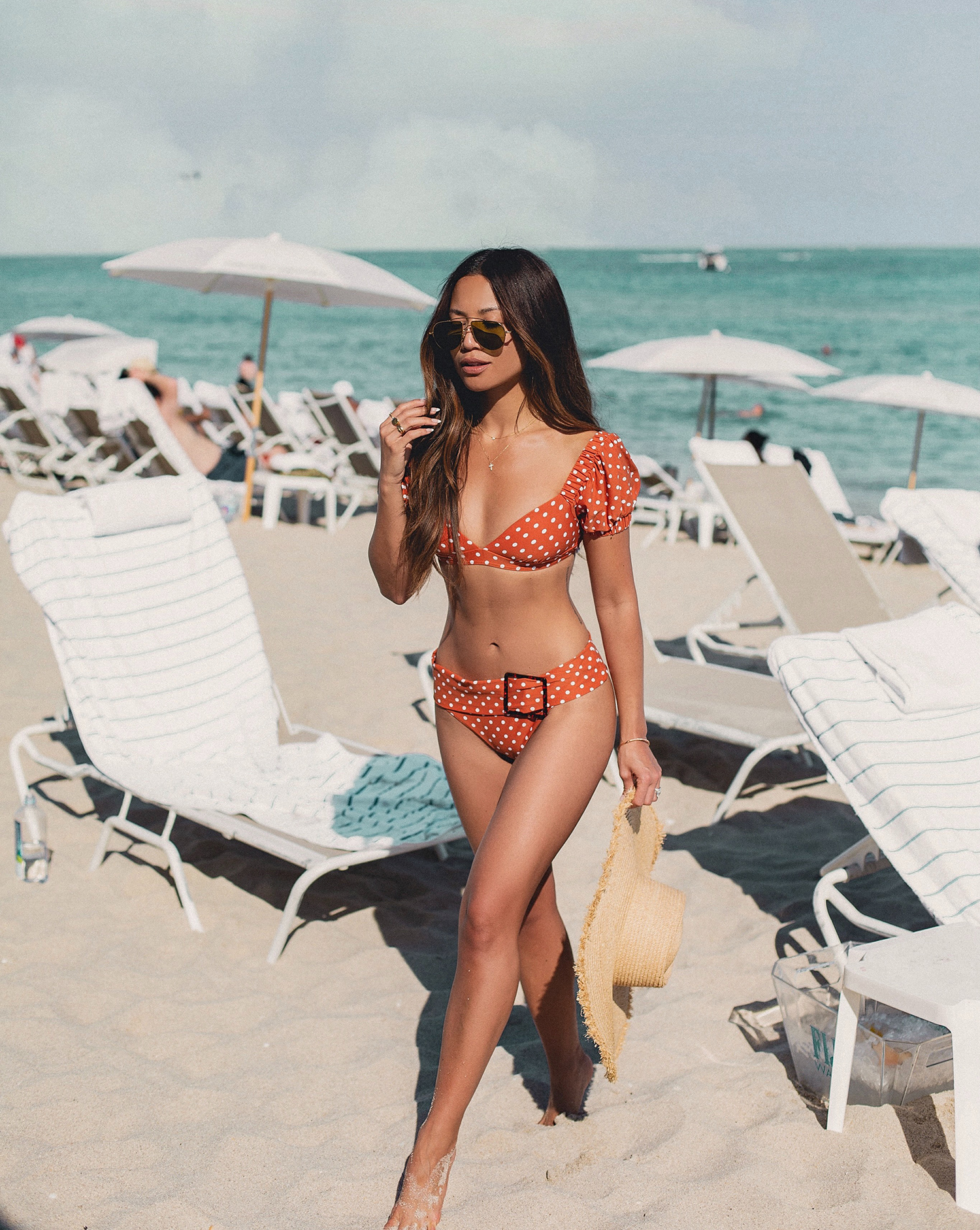 Jessi Malay wearing who wore what bikini