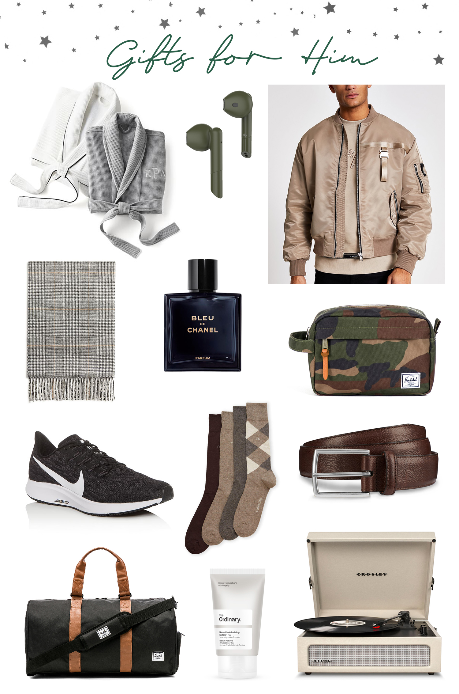 holiday gift guide for him under 100