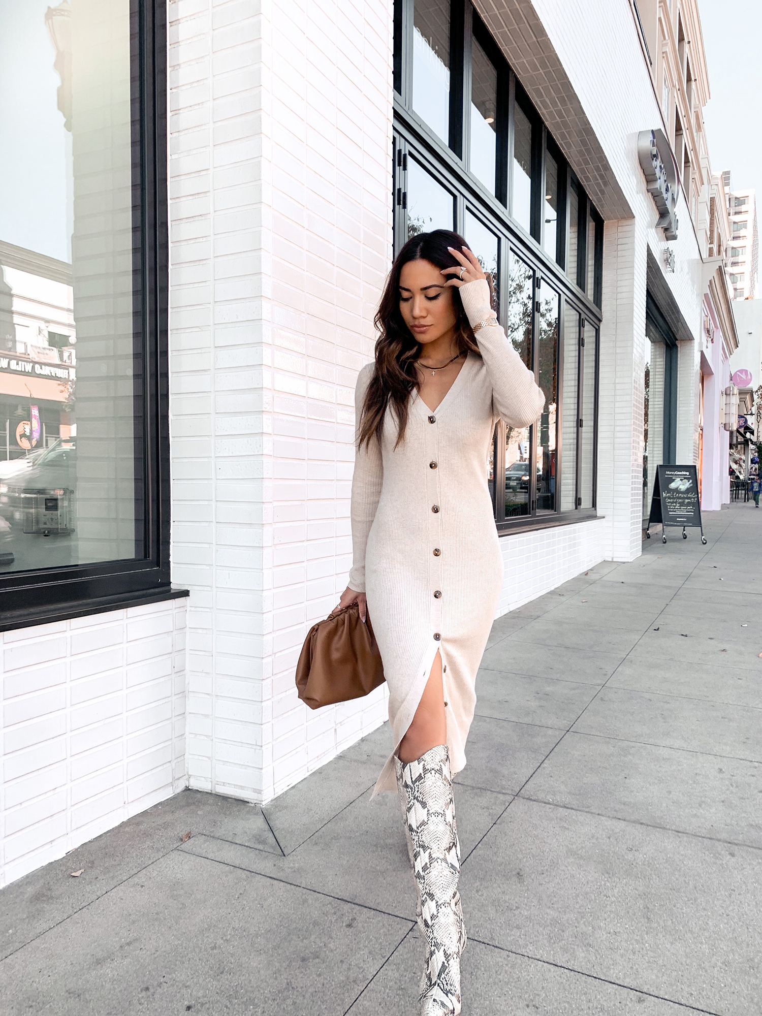 5 Sweater Dress Outfits To Try This Winter – Jessi Malay