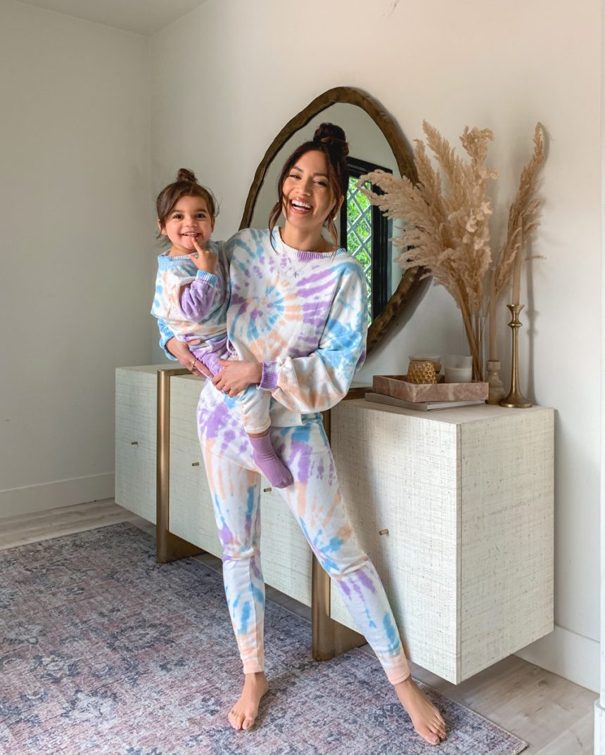 Cozy Mom Daughter Outfit