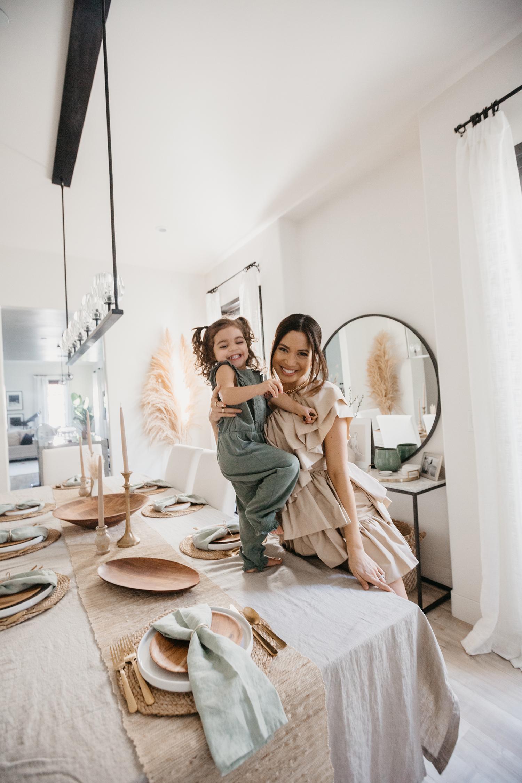 Jessi Malay daughter alessandra H&M home