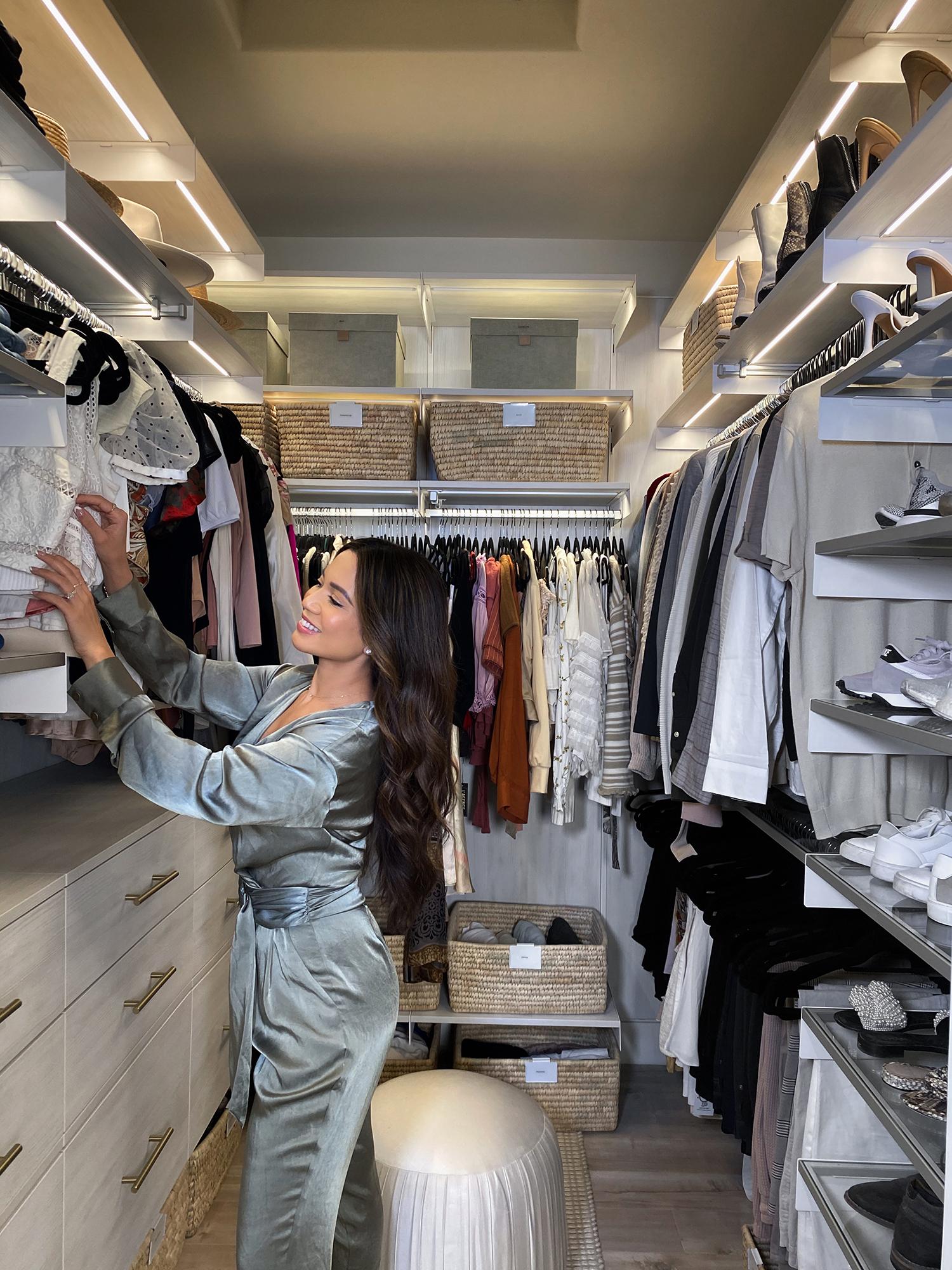 Jessi Malay master closet reveal
