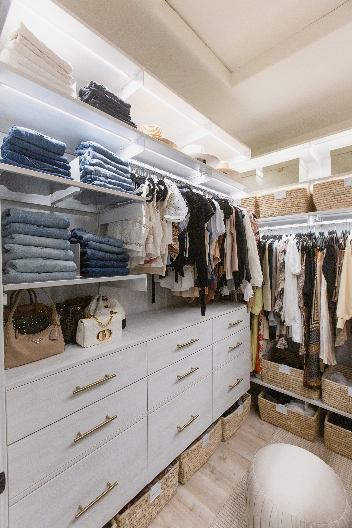 The container store avera closet system