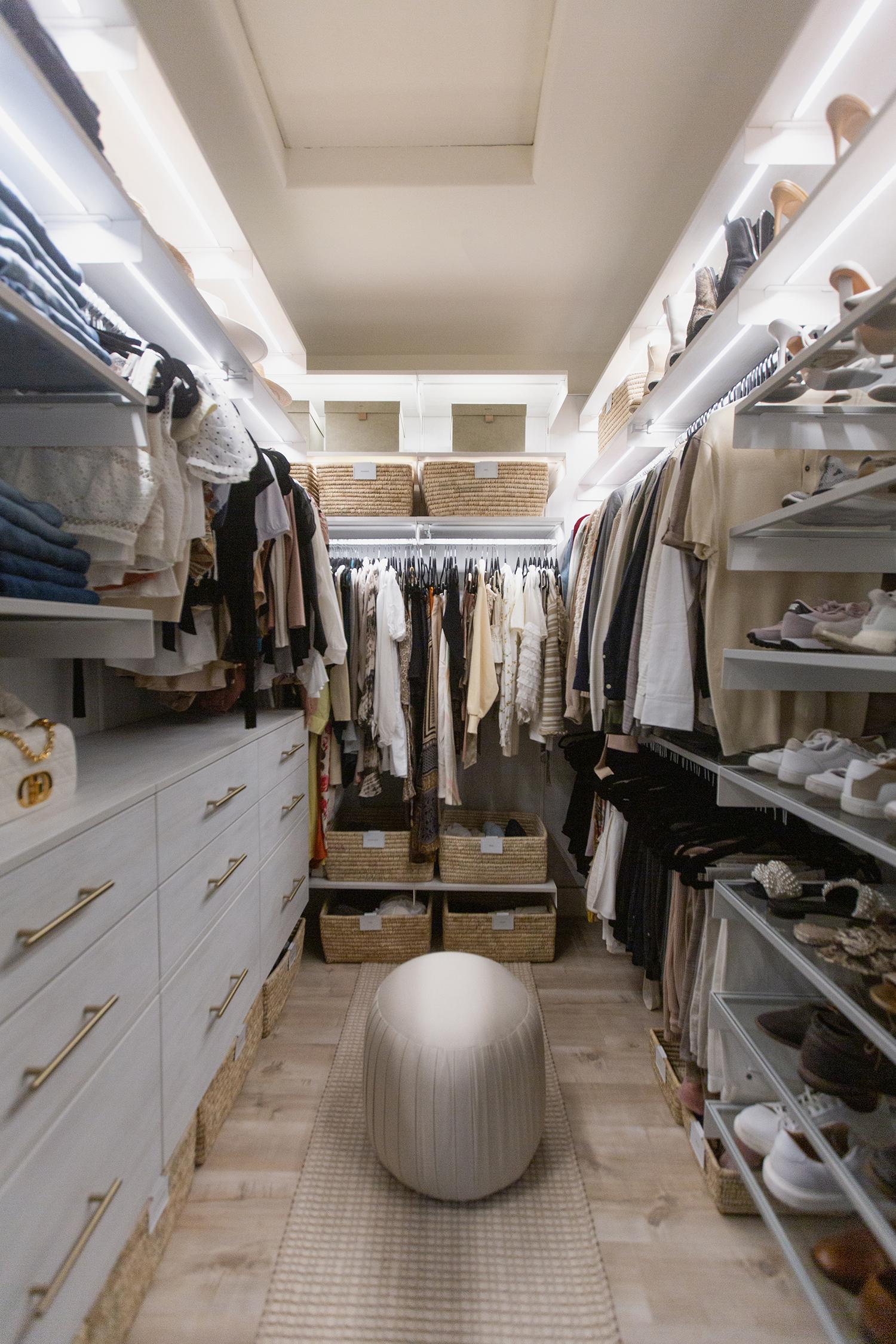 the container store avera closet