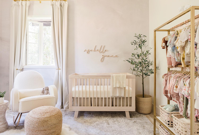 Jessi Malay baby girl nursery tour