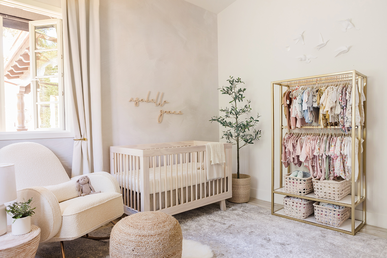 Jessi Malay nursery reveal isabella