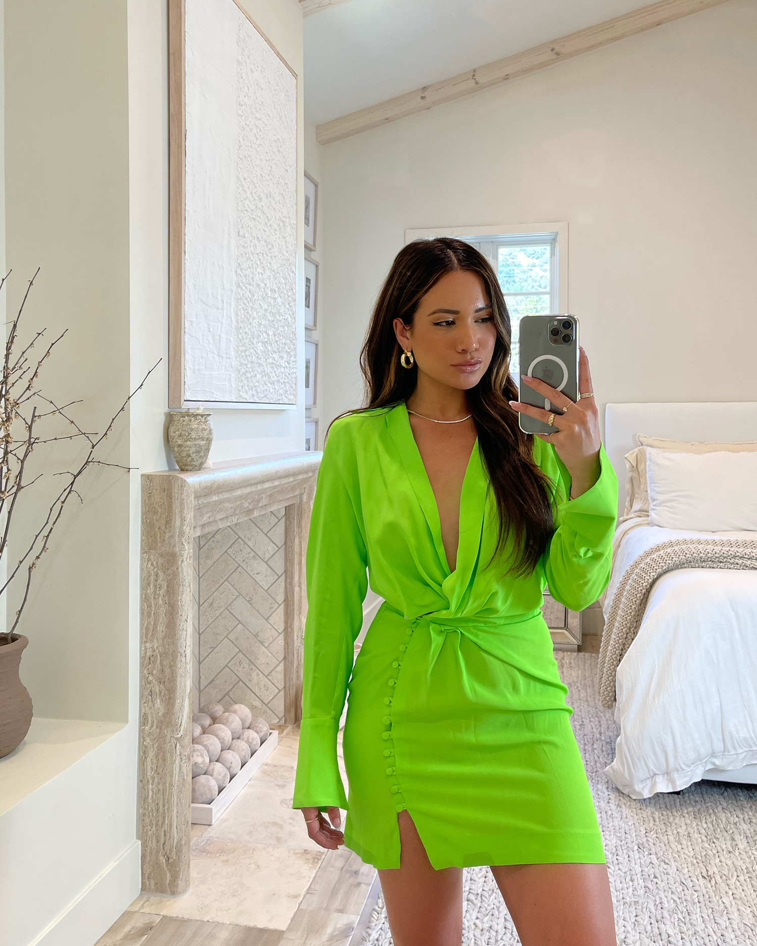 lime green summer 2021 trend